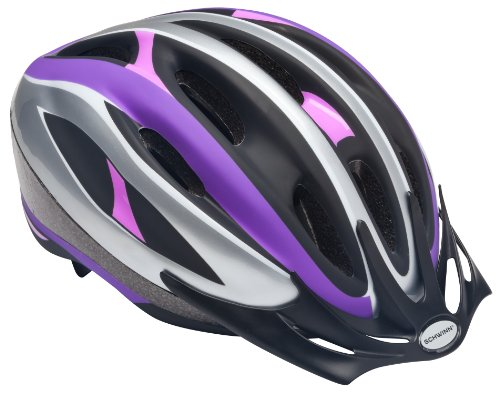 Lowest Price! Schwinn Youth Girl's Intercept Helmet, Purple/Pink