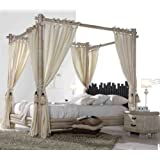 suchergebnis auf f r himmelbett gestell. Black Bedroom Furniture Sets. Home Design Ideas