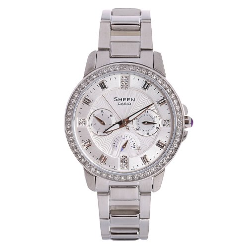 Casio SHE-3023D-7ADR - Reloj de pulsera mujer
