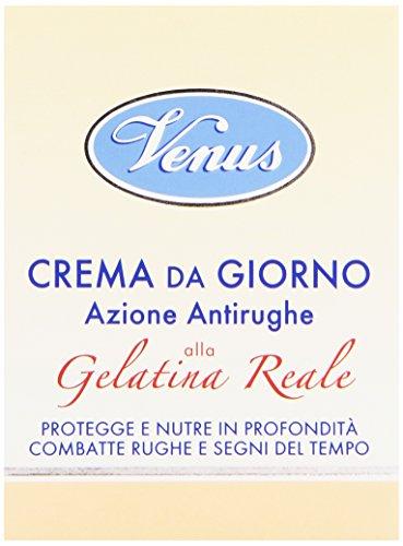 Venus - Crema da Giorno Azione Antirughe, alla Gelatina Reale - 50 ml