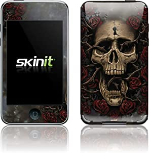 Buy Liquid Blue - Skull Entwined with Roses - iPod Touch (2nd & 3rd Gen) - Skinit Skin by Skinit