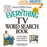 The Everything TV Word Search Book: A new season of TV puzzles - with no reruns! (Everything Series)