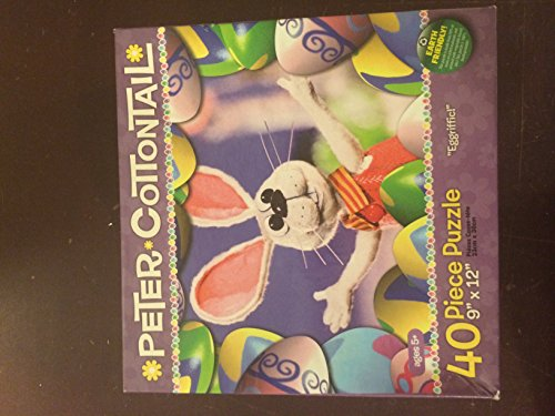 "PETER COTTONTAIL ""Eggriffic"" ~ 40 Piece Jigsaw Puzzle"