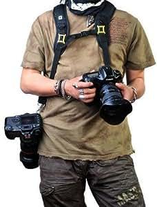 Rainbowimaging Quick Release Dual-shoulder Camera Neck Strap for Canon Nikon Olympus Pentax Panasonic Sony Dslr + Lens - Black