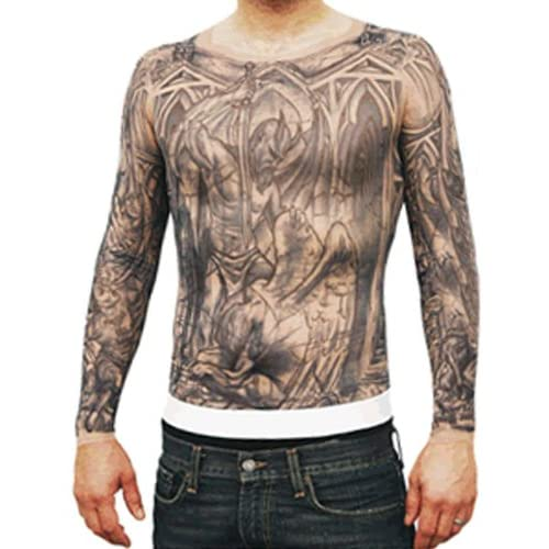 Break Michael Scofield Tattoo Shirt: Adult Sized Costumes: Clothing