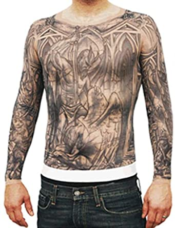 Amazon.com: Prison Break Transparent Tattoo Shirt - Small/Medium