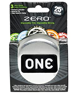One Condoms One Zero, 3 Count