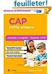 CAP Petite enfance - Annales corrig�e...