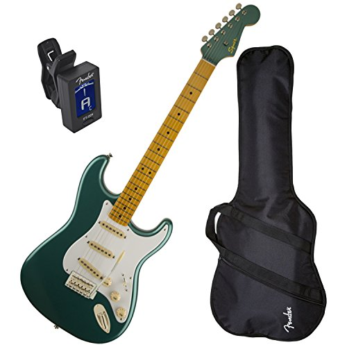 Squier Classic Vibe Strat 50's Sherwood Green Metallic w/ Fender Gig Bag and Tuner (Fender Classic Vibe 50 compare prices)