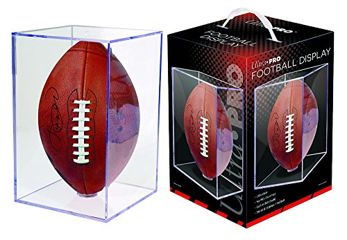 Ultra Pro Football Clear Square Holder (Clear Hat Display compare prices)