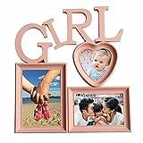 Basement Bazaar Plastic 'Girl' Photo Frame (Pink)