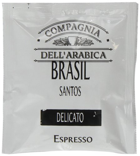Find Compagnia Dell'arabica Brasile Santos ESE Pods 7 g (Pack of 18) - Cotsh