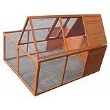 Klappbarer Kleintierstall / Freilaufgehege ca. 160 cm x 119 cm x 60 cm -