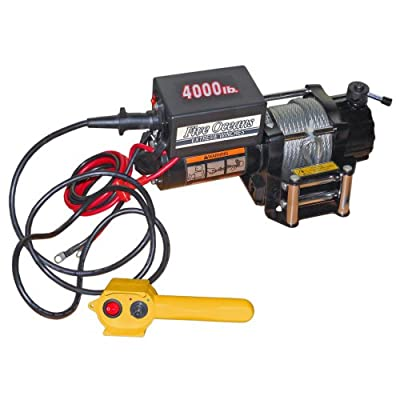 ELECTRIC TRAILER RECOVERY WINCH - ATV/BOAT/TRUCK/CAR - 4000 lb 12V- FIVE OCEANS