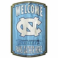 NCAA North Carolina Tar Heels 11-by-17-InchTraditional Look Wood Sign by WinCraft