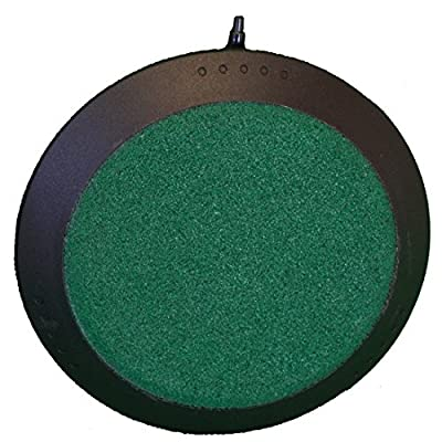Deluxe 5 Inch Round Air Stone for Hydroponic Systems, Fresh Water & Saltwater Aquariums, Aquaculture, & Terrariums!