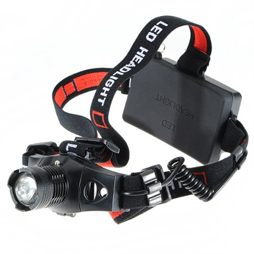 5W Cree Xpe-Q5 Led Headlamp Headlight 3 Mode Powered By Aaa Or 18650 Battery (240Lm Heandlamp)