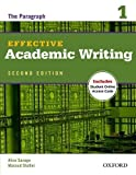img - for Effective Academic Writing 2e Student Book 1 2 Pap/Psc edition by Savage, Alice, Shafiei, Masoud published by Oxford University Press, USA (2012) Paperback book / textbook / text book