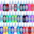 Tattoo Supplies - Skin Candy 36 Tattoo Ink Colors In 1oz Bottles by Joker Tattoo Supplies