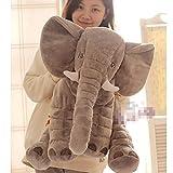 【哲学の部屋】リアルぬいぐるみ アフリカゾウ/象 特大 インテリア キッズ子供 おもちゃ 動物 ぬいぐるみ 60cm