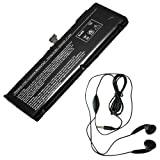 Extended Life Replacement Battery for select Apple Laptop / Notebook / Compatible with Apple A1382, A1286, MB985*-A, MB985CH-A, MB985J-A, MB985LL-A, MB985TA-A, MB985X-A, MB985ZP-A, MB986*-AMB986CH-A, MB986J-A, MB986LL-A, MB986TA-A, MB986X-A, MB986ZP-AMC118, MC118*-A, MC118CH-A, MC118J-A, MC118LL-A, MC118TA-A, MC118X-A, MC118ZP-AMC721LL-A, MC723LL-A, MD318LL-A, MD322LL-A, MD103LL-A, MD104LL-A Precision, 020-7134-A, 661-5844 ( 9 Cell, 73WH ) - Includes Stereo Earphone with Microphone