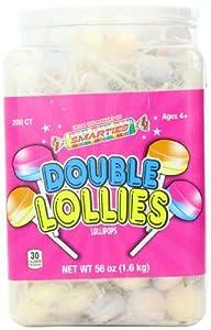 Smarties Double Lollies, 200 Count