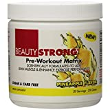 Beauty Fit Strong 30 Serving Pre-Workout Matrix Pineapple