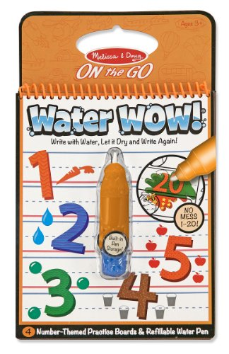 Melissa & Doug Water Wow Numbers front-71580