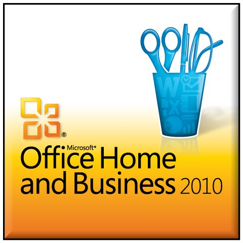 Genuine Microsoft Office 2010 Home & Business 32 / 64 Bit Media Software With A Key Coa One Pc One User