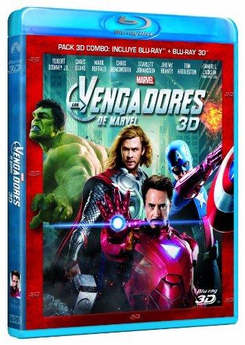 Los Vengadores (3D + Blu-ray) [Blu-ray]