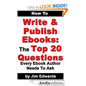 how to write and publish e-books
