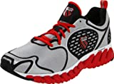K-Swiss Blade-Max Glide Men's Running Shoe, Silver/Black/Red UK6.5 / EUR40