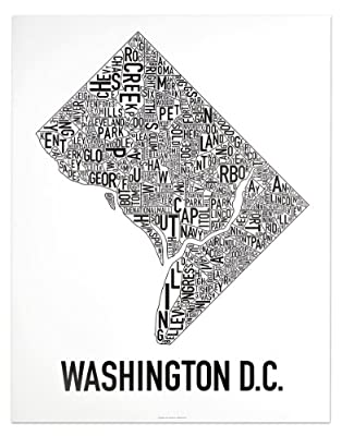 Washington DC Neighborhoods Map