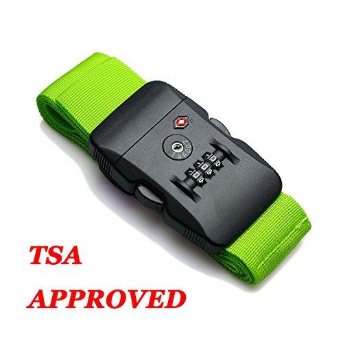 hibate-tsa-lock-approved-luggage-strap-suitcase-travel-belts-200cm-78-green