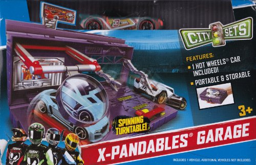 Hot Wheels City Sets X-Pandables Garage