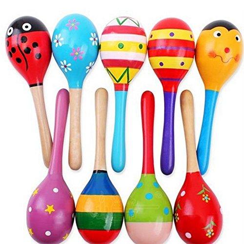 New-Wooden-Maraca-Wood-Rattles-Egg-Shaker-Kids-Musical-Party-Favor-Kid-Baby-Shaker-Sand-Hammer-Toy