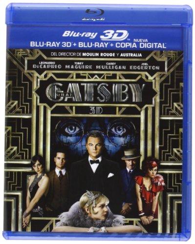 El Gran Gatsby (BD 3D + BD + Copia Digital) [Blu-ray]