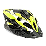 #1: Kamachi Cycling/Skating Head Protector Helmet ((Fluorescent Green/White (M))