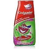 Colgate Kids 2 In 1 Toothpaste & Mouthwash, Watermelon Flavor, 4.6 oz (130 g)