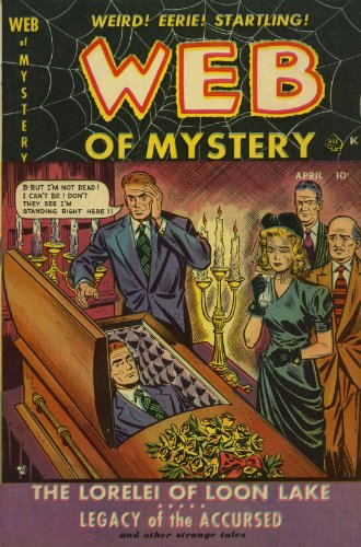 Web of Mystery - 2 cover