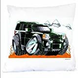 "LAND ROVER DISCOVERY Personalised CUSHION (14"" x 14"") 1925"