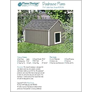 Custom Dog House Plans - Insulated Dog House Plans