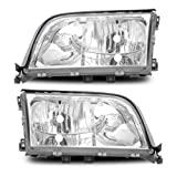 SPPC Crystal Headlights For Mercedes-Benz S Class W140 - (Pair)