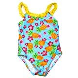 Baby Bunz - Pinapple Baby Girls 12M, 18M, 24M One Piece Cute Swimsuit Bathing Suit
