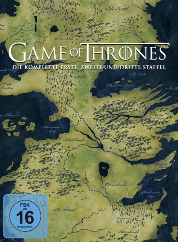 Game of Thrones Staffel 1 - 3 (exklusiv bei Amazon.de) [15 DVDs]