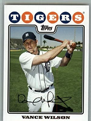 2008 Topps Detroit Tigers LIMITED EDITION Team Edition Gift Set # 32 Vance Wilson - MLB Trading Card