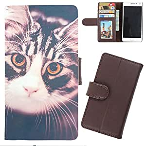 DooDa - For Nokia Asha 500 / 500 Dual sim PU Leather Designer Fashionable Fancy Wallet Flip Case Cover Pouch With Card, ID & Cash Slots And Smooth Inner Velvet With Strong Magnetic Lock