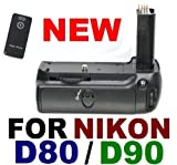 Battery Grip MB-D80 for Nikon D80 D90 SLR Digital Camera