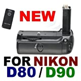 Battery Grip MB-D80 for Nikon D80 D90 SLR Digital Cameraby Generic