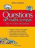 Questions de maths sympas pour M. et Mme Toulemonde